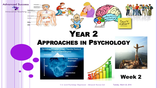Year 2 Powerpoint - Week 2 Humanistic Approach and Comparisons
