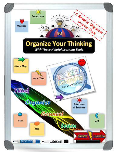 Graphic Organizer Starter Pack - Printables