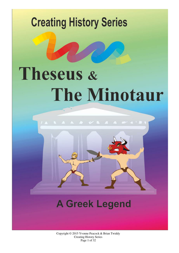 Theseus & The Minotaur a history play for schools