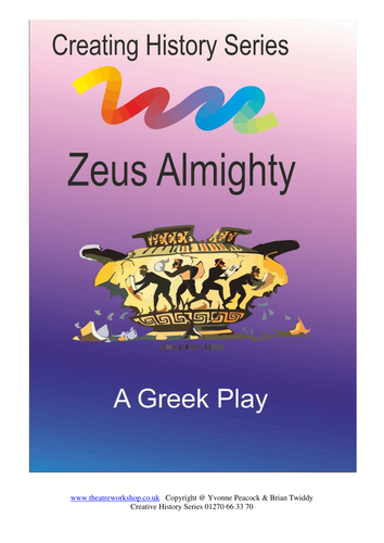 Zeus Almighty a Greek play for Primary Schools