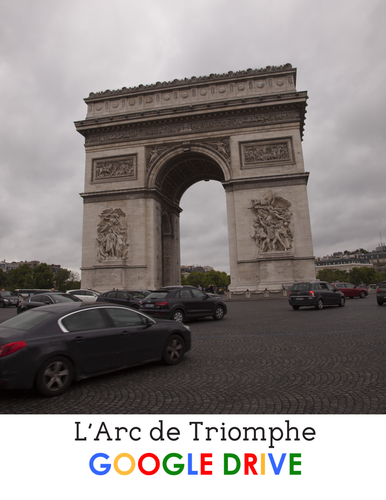 Arc de Triomphe - reading for beg/int French students - Google Drive edition