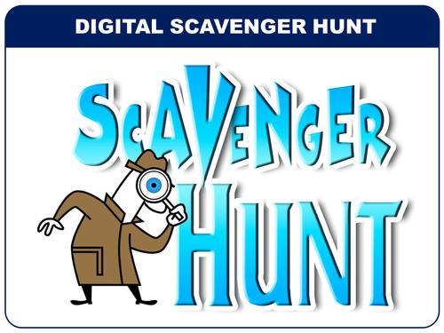 Digital Scavenger Hunt - Team Building Activity