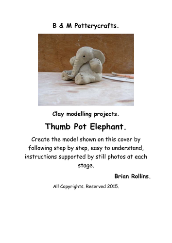 Thumb pot elephant.