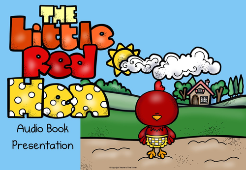 The Little Red Hen powerpoint story