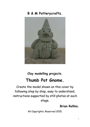 Thumb pot Gnome.