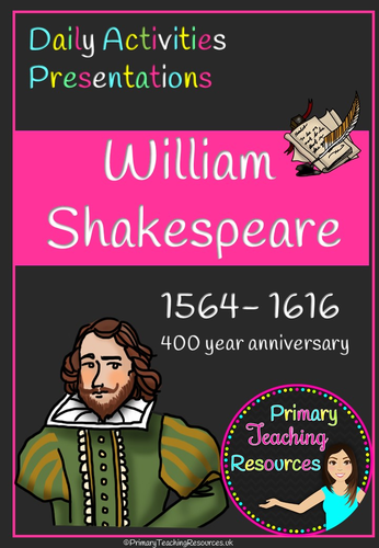 KS2 William Shakespeare Activity Pack (presentations and activities)