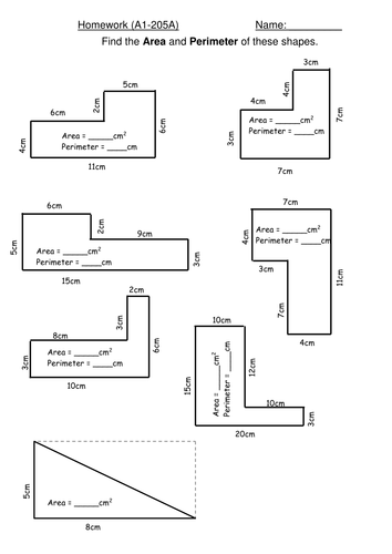 Area Of Compound Shapes Worksheet Ks2 - Proga | Info
