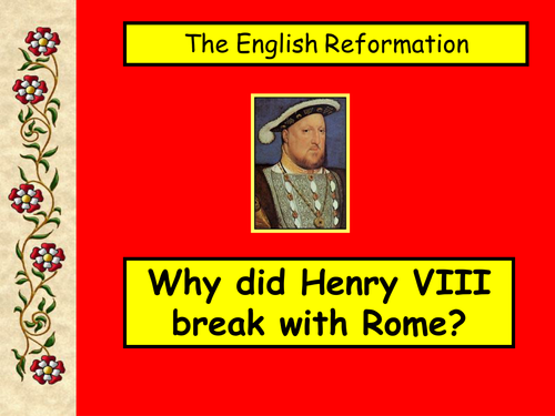 henry viii broke from rome because he wanted to increase his personal power essay Free essay: henry the viii broke form rome because of love (power), religious (faith) and personal more about why did henry viii break with rome essays.