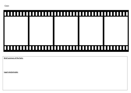 Key Cases Film Strip
