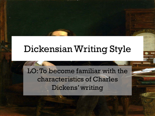 Dickensian Story Grid - Dickensian Writing Style