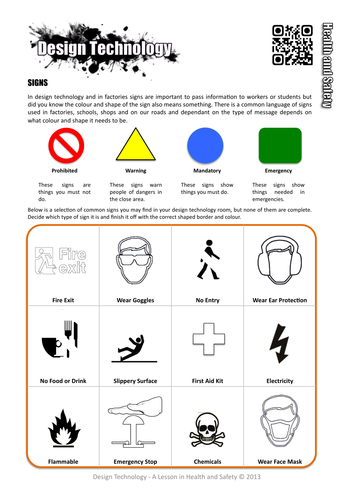 Terrible image for safety worksheets printable
