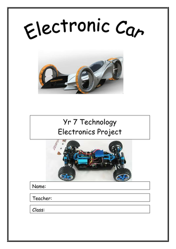 Electric Car booklet