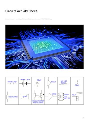 Electronics Circuit Sheet