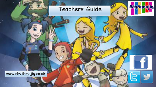 Teachers' guide to the Rhythmajig curriculum