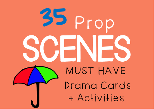 Role Play Prop Scenes (Drama Cards with Scene Ideas)