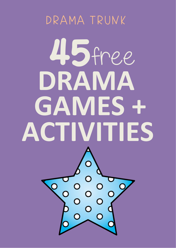 FREE Drama Games for High School (years 7 - 12)