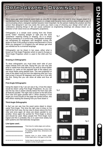 Orthographic Drawing - How to Guide!