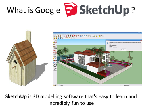 Google Sketchup Designing A Birdhouse Easy Step By Step