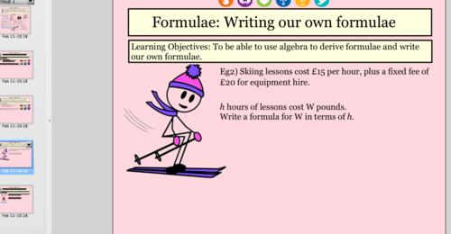 Formulae Foundation GCSE