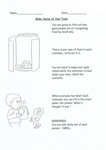 Make sense of your food