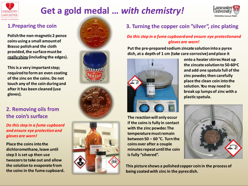 Get a Gold Medal with Chemistry.