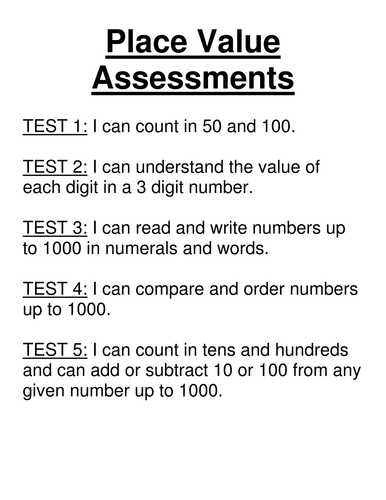 maths place value assessment tests year 3 by vcurrie19 teaching resources tes. Black Bedroom Furniture Sets. Home Design Ideas