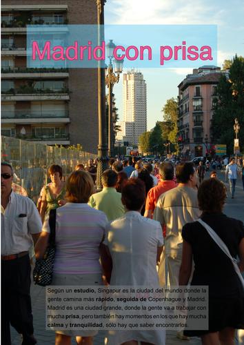Madrid con prisa