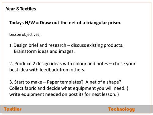 Y8 Textiles project