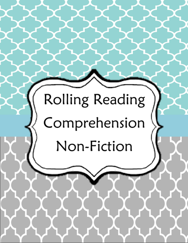 Reading Comprehension - Non-Fiction Game