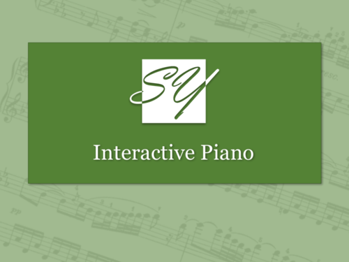 Interactive Onscreen Piano