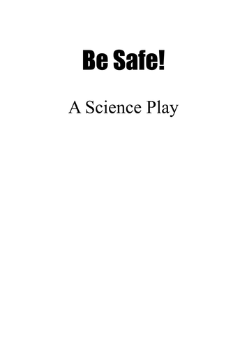 Science theatre play