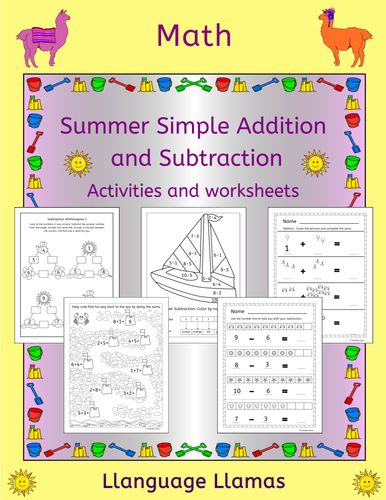 summer 2015 addition and subtraction with statistics year 1 by uk teaching resources tes. Black Bedroom Furniture Sets. Home Design Ideas