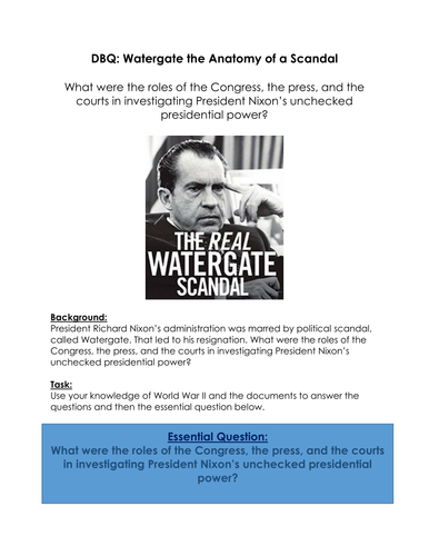 Watergate Documents
