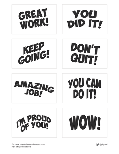 ★ Student Encouragement Cards - Part 3 | PDF Printables ★
