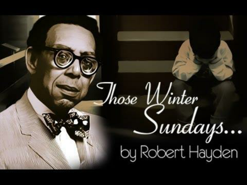 ìthose winter sundaysî by robert hayden essay Home kerala board those winter sundays summary by robert hayden about the poet: robert hayden, born in 1913asasa bundy sheffey, was an american poet, essayist and educator who served as consultant in poetry to the library of congress from.