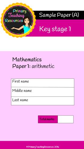 5 KS1 SATs Arithmetic Papers