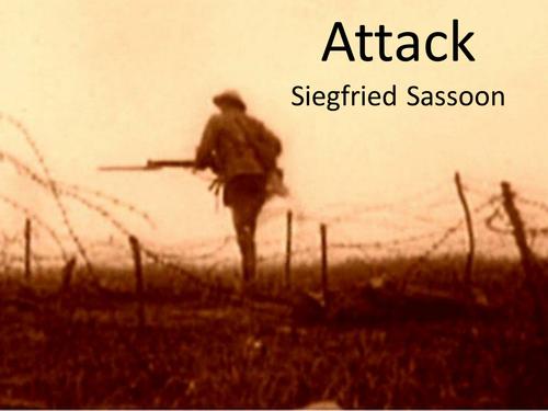 Attack siegfried sassoon essays