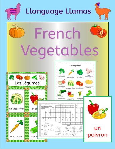 French Vegetables - Les Legumes