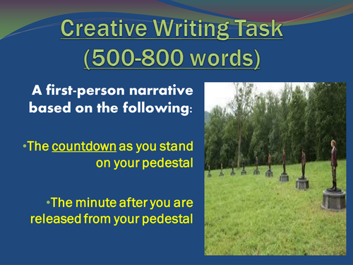 Best Creative Writing Exercises   WTD SP ZOZ   ukowo Examples for Creative Writing Level  elementary  Age        Downloads