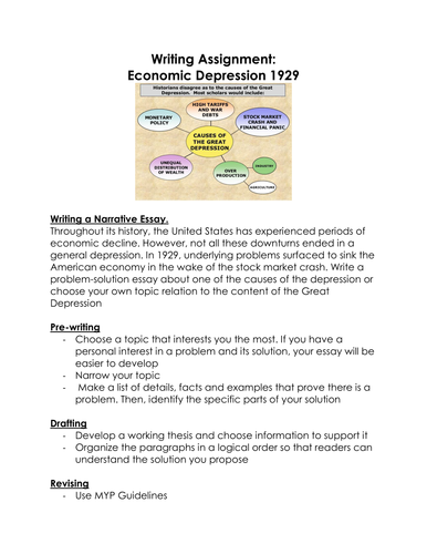 Thesis Statement For Persuasive Essay Great Depression S Writing Assignment Economic Depression  An Essay On Health also Health Care Reform Essay History Teacher By Day And By Night Shop  Teaching Resources  Tes Argumentative Essay On Health Care Reform
