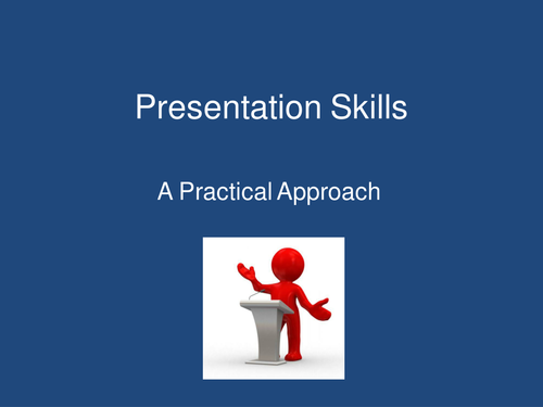 Presentation Skills - What do you want to say? 3/3