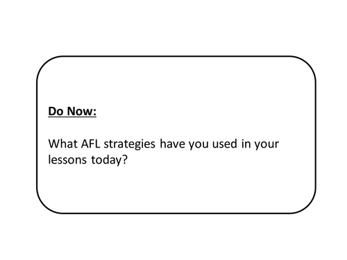 Brief overview of AFL
