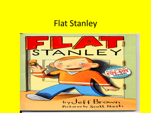 English Planning Flat Stanley Big Write