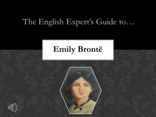 Emily Bronte: Biography in brief
