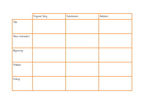 Boxing Up Story Planner