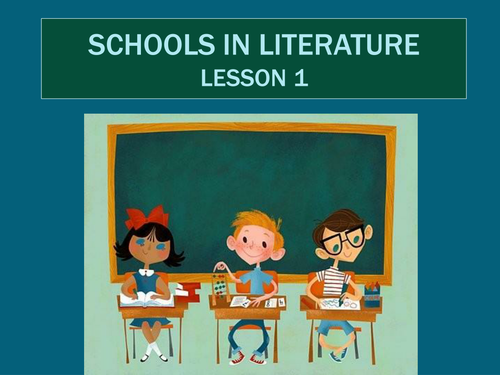 An Introduction to Schools in Literature