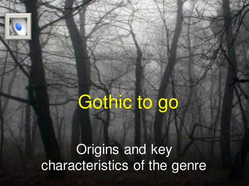 Origins and features of gothic fiction