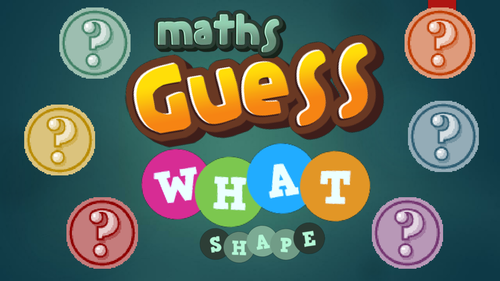 Guess What - Shape and Numbers Mathematical Reasoning Game KS2 or KS3