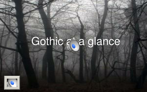Gothic fiction Features - NARRATED