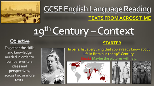 how to write in 19th century english